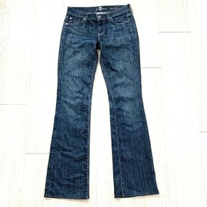 7 For All Mankind Bootcut Jeans Sz 26 Dark Denim
